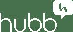 Hubb Logo All White