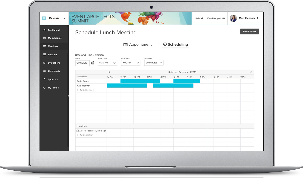 Event Meeting Management Software | Hubb